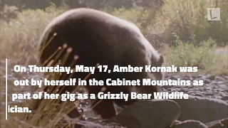 Woman Walks 2 Miles with Skull Fractures, Covered in Blood After Being Mauled by Grizzly Bear - Video