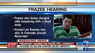 Preliminary hearing underway for Patrick Frazee in Kelsey Berreth's disappearance