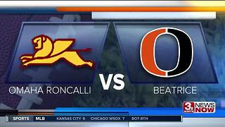 roncalli vs beatrice - Video