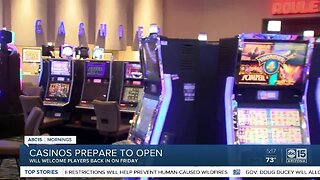 Casinos taking precautions to keep customers safe after reopening