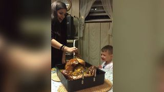 Thanksgiving Dinner Freak Out - Video