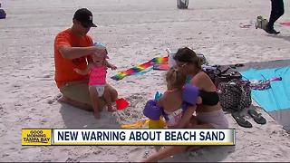 Sandcastles can make you sick; beware playing on beaches filled with bacteria and pollutants - Video