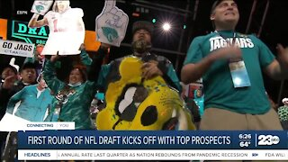 First round of NFL Draft kicks off with top prospects