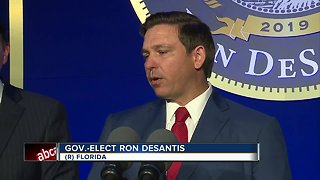 Governor-elect DeSantis takes oath of office tomorrow