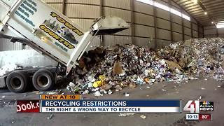 Changes in China affecting Kansas City recycling - Video