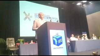 SOUTH AFRICA - Durban - IEC code of conduct (Video) (aax)