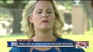 VIdeo shows officer-involved shooting