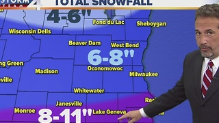 Winter Storm Warning - Timeline - Video