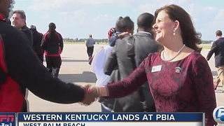Memphis and Western Kentucky land in Palm Beach County - Video