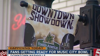 Thousands Expected For Music City Bowl - Video
