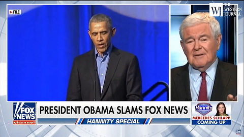 After Obama Says Fox News Viewers 'Live On A Different Planet' Newt Calls Him Out For 'Fantasy'