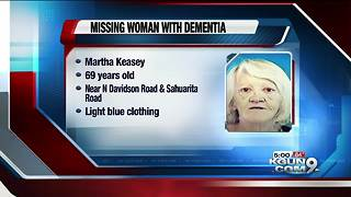 PCSD searching for missing woman with dementia - Video