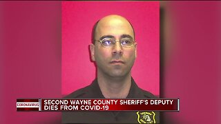 Second Wayne County Sheriff's Deputy dies from COVID-19