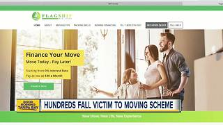 Tampa couple falls victim to moving scheme - Video