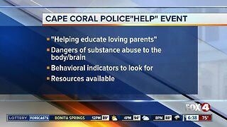 Cape Coral Police hosting event to help parents