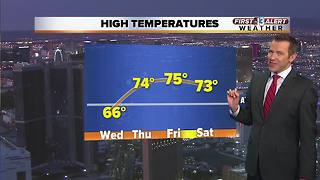13 First Alert Las Vegas Weather for Wednesday Morning March 7th - Video