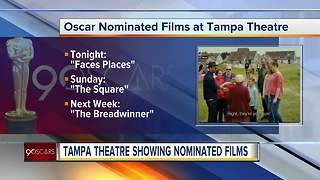 Tampa Theatre screening Oscar-nominated movies and short films - Video