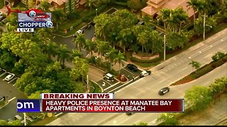 Breaking news at Manatee Bay Apartment Complex