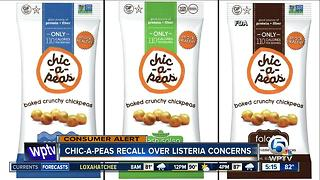 Chic-a-Peas recalls products for listeria concerns - Video