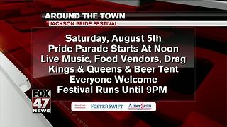 Around Town 8/3/17: Jackson Pride Festival - Video