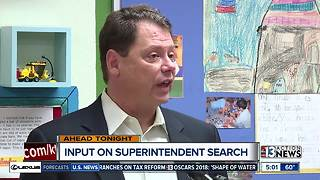 Clark County School District seeks public input on superintendent search - Video
