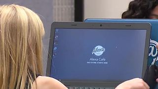 Las Vegas girls camp teaching young women about technology - Video