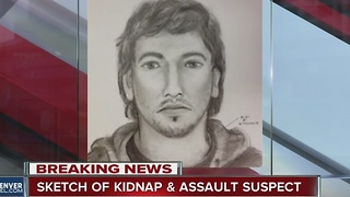 Sketch of kidnap and assault suspect released - Video