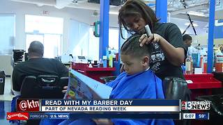 Kids get style and story from barbers - Video