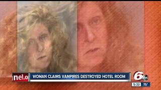 Woman threatens hotel employees & police, blames