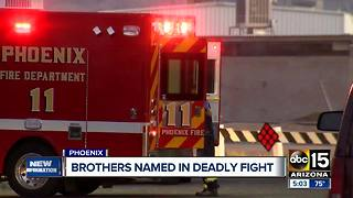 Brothers identified from deadly Phoenix shooting - Video