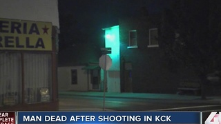 Man shot outside KCK bar early Sunday - Video