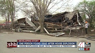 Body found after house fire, explosion on KCMO's east side