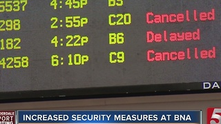 BNA Increases Security Following Ft. Lauderdale Shooting - Video