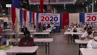 Counting votes in Palm Beach County