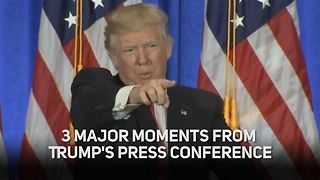 Trump's press conference is EXACTLY what you expected - Video