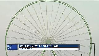 What's new at the Wisconsin State Fair - Video