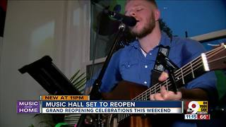 Music Hall will reopen this weekend - Video