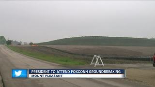 Protesters, president descend on Wisconsin for Foxconn