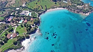 Drone footage captures most expensive house in Greece - Video