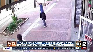 Tips lead to arrest of shooting suspect downtown - Video