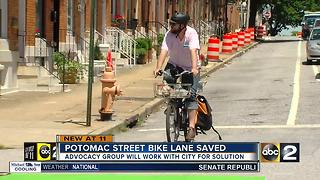 Canton bike lane won't be removed - Video