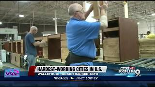 Hardest working cities in America - Video