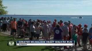 Annual Heart & Stroke Walk/5k Run led by Bucks President Feigin - Video