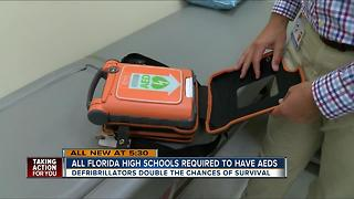 All Florida high schools required to have AEDS - Video