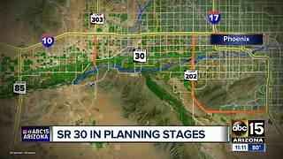 New proposed Valley freeway, State Route 30, named 'Tres Rios' - Video