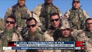 Local veteran featured in film - Video