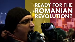 Chain of corruption: Can 300,000 Romanians break it? - Video