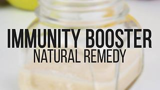 Immunity booster natural remedy recipe - Video