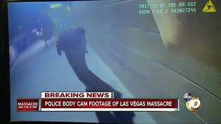Police body cam footage of Las Vegas massacre - Video