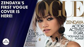 Everything to know about Zendaya's first Vogue cover - Video